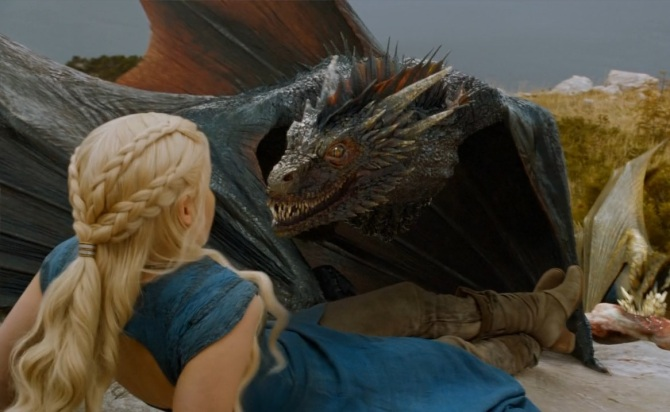 LOST! 1 Dragon. Responds to Drogon.If found please return to his mother.