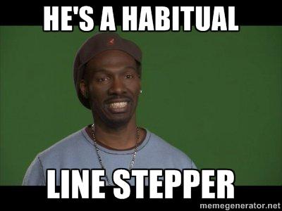 Habitual Linestepper