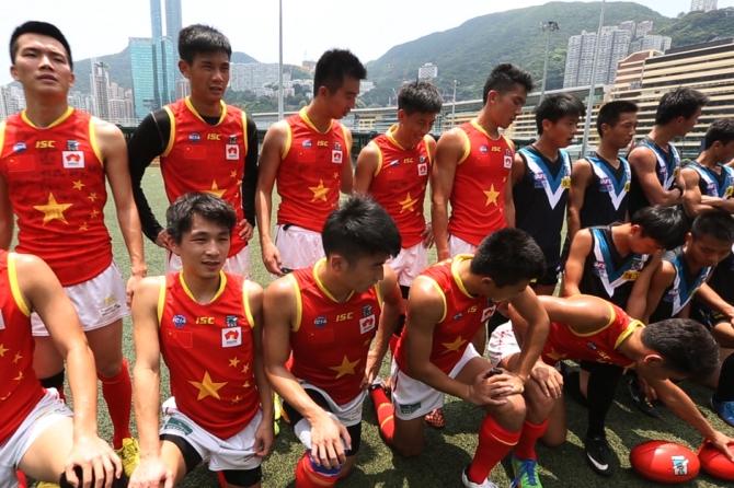 Gil's dream for AFL Grand Final 2037: Beijing Bombers vs Sichuan Sharks